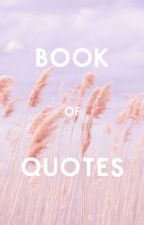 Book of Quotes by myafiani