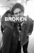 Broken • m.c. {Sequel to Dms} by basicallyhappy