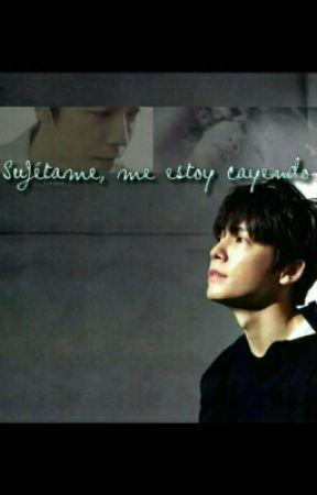 Sujétame, me estoy cayendo. ( HAEHYUK ) by dreams___xx
