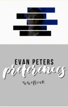 Evan Peters Preferences by -wwefreak