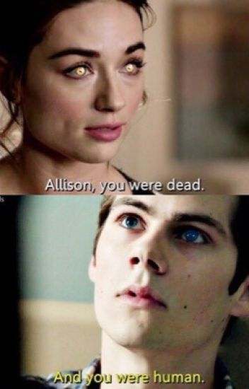 Allison and Stiles back to back.
