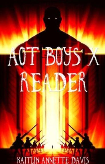 AOT Boys x Reader