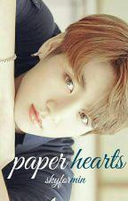 Paper Hearts / Jik∞k by skyformin