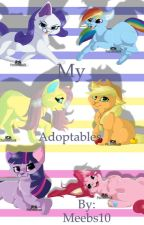 My adoptables! Or pets. by _wolfpawz_
