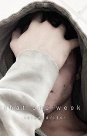 That one week // Jacob Sartorious fanfic by crazedmartinez