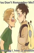 You Don't Remember Me? (Destiel highschool AU) by i_have_a_probelm