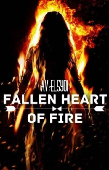 Fallen heart of fire