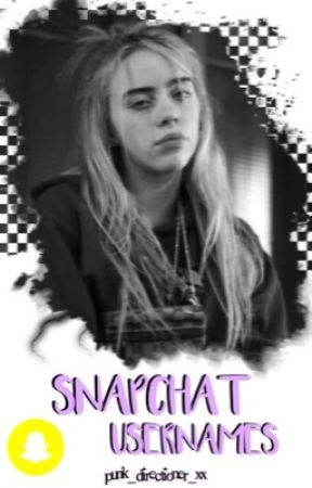 celebrity snapchat usernames ✓ by Punk_Directioner_xx