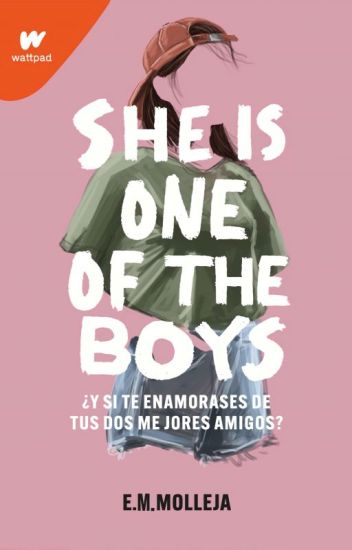 She is one of the boys.
