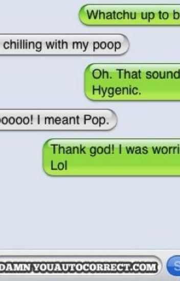 Funny Text Bloopers- Darn That Auto-Correct