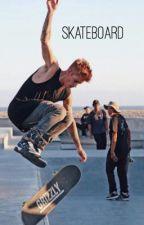 skateboard | justinxselena by rickthedrew