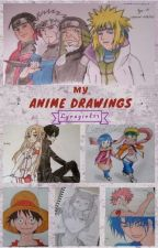My Anime Drawings by lydiafer11