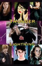 thunder and lightning by hogwartshottie