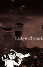 Haikyuu!! Crack by sugadorable