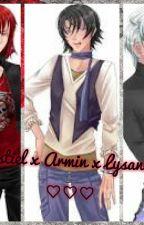 Castiel x Armin x Lysandro ♡♡♡♡ by Vivikawaii77