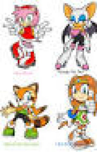Female Sonic Characters x Male reader.