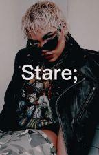 Stare; by infiredjimin