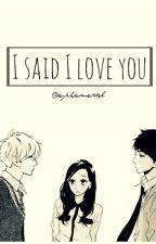 i said i love you  E X O by Suhocherryblossom
