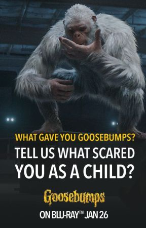 What Scared You As A Child? by GoosebumpsMovie