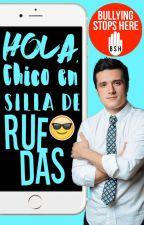 Hola, Chico en Silla de Ruedas © by GreatlySmall