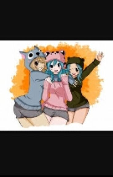 Lucy,juvia and Levy's Revenge On Fairy Tail