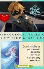 Miraculous; Tales of Snowdrop and Cat Noir by Danalpswolf