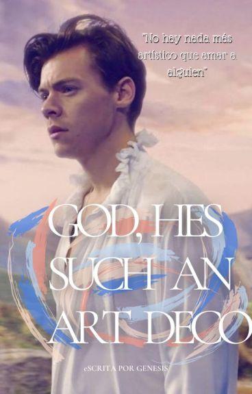 God, he's such an art deco {l.s}
