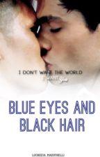 Blue eyes and black hair by Lucrezia_Maestrelli