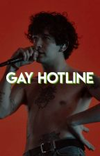GAY HOTLINE. by ezra-millers