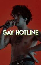 GAY HOTLINE (editing) by ezra-millers