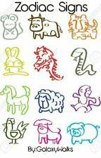 Zodiac Signs by GalaxyWalks