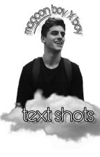magcon boy x boy text shots by -larryhoe