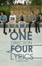 One Direction-FOUR lyrics by oceanix_