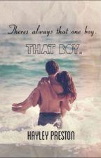 That boy. by hayleyjadee__