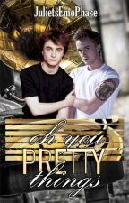 Oh You Pretty Things (A Drarry FanFiction) by JulietsEmoPhase