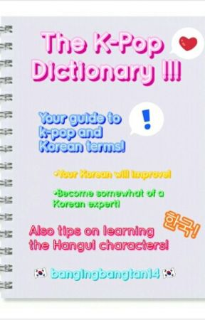 K-Pop Dictionary [Editing] by zicovirus