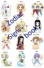 Zodiac Sign Book by AnimeWithEmoMusic