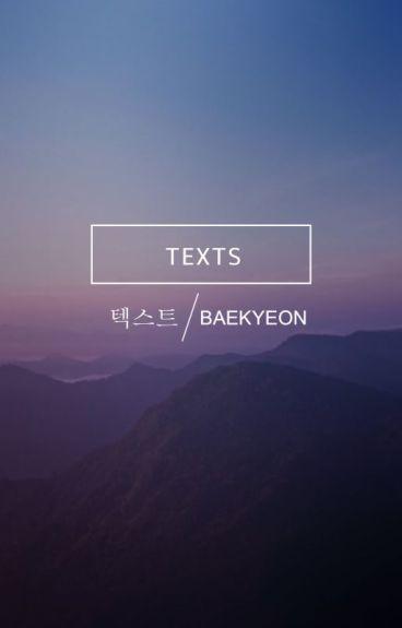 texts | baekyeon