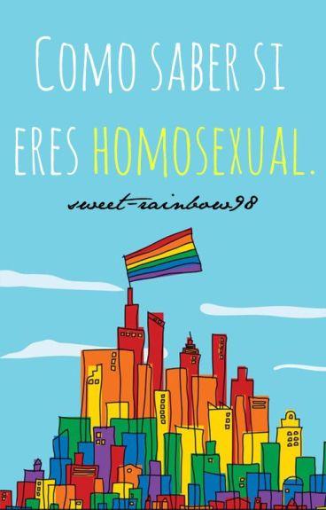 Como saber si eres homosexual.