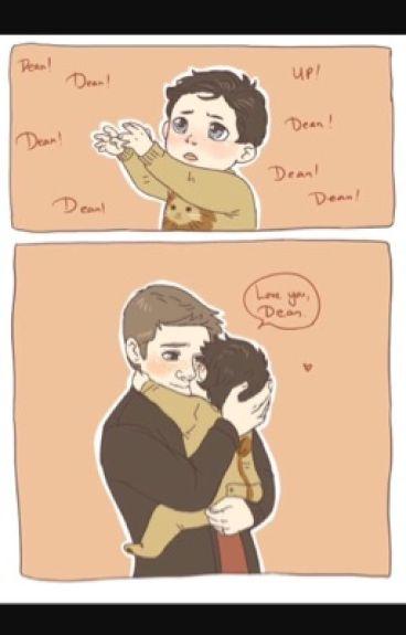 Daddy's begging little boy