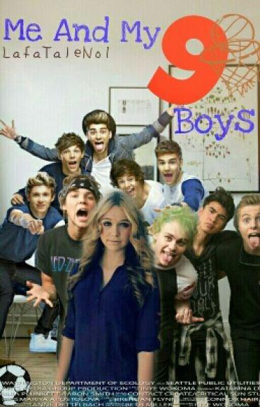 Me And My 9 Boys/ 1D, 5SOS SUSTABDYTA