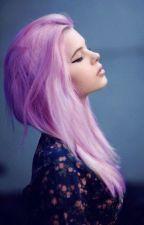 Любовь или девушка с розовыми волосами.  by LadyGrust
