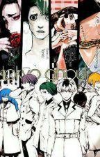 Tokyo Ghoul: re ~ Yuganda Sekai ~ Urie X Lectora X Sasaki by takizawa-kun