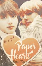 ♡Paper Hearts♡ [Vkook] by soutanic