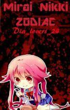ZODIΔC Mirai nikki by dia_lovers_24