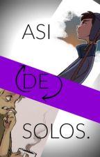 Así de solos. by Leu-Lebe