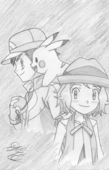 Pokemon Kalos High - A New Adventure - Amourshipping (Ash and Serena)