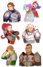 Nexo Knights daughter scenarios by jocolate4326