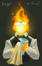 Grillby X Reader by AbiAdair