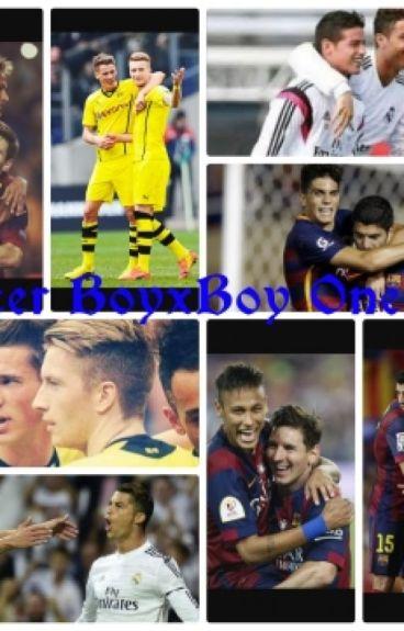 Soccer BoyxBoy Oneshots